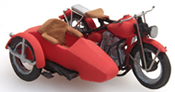U.S. Motorcycle Liberator + sidecar