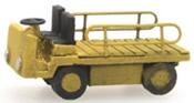 Electr. platform truck yellow