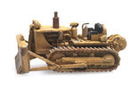 Bulldozer D7 Yellow