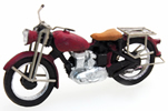 German Motorcycle Triumph Red
