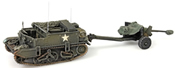 UK Universal carrier+6 pnd Antitank gun
