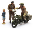 UK Triumph Motorcycle + 3 Fig.