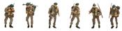 UK Commando ( 6 Fig.)