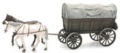 Farm Wagon with Tarp