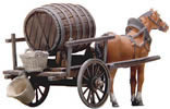 Beer Barrel Car with Horse