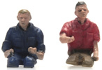 Truck Drivers 2 figures