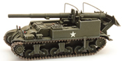 US M12 155mm Gun Motor Carriage