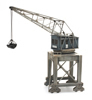 Harbour crane with grabber
