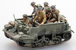 Crew for universal carrier ( 6 fig.)