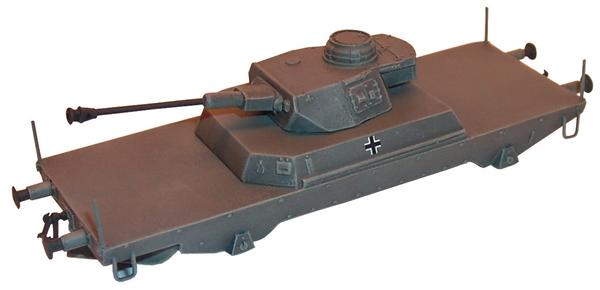 Artmaster 80015 - Tank destroyer railroad car w/ Pz IV turret