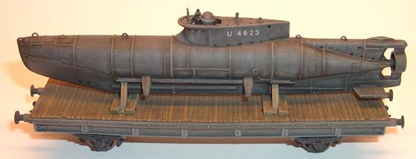 Artmaster 80036 - Railroad flatcar for armament transport