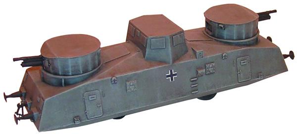 Artmaster 80037 - Armoured artillery railcar No. 17-23