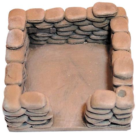 Artmaster 80088 - Sand-bagged postion, rectangular)