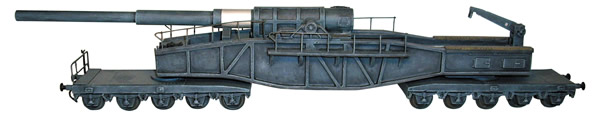 Artmaster 80095 - 280mm Railroad-gun Short Bruno