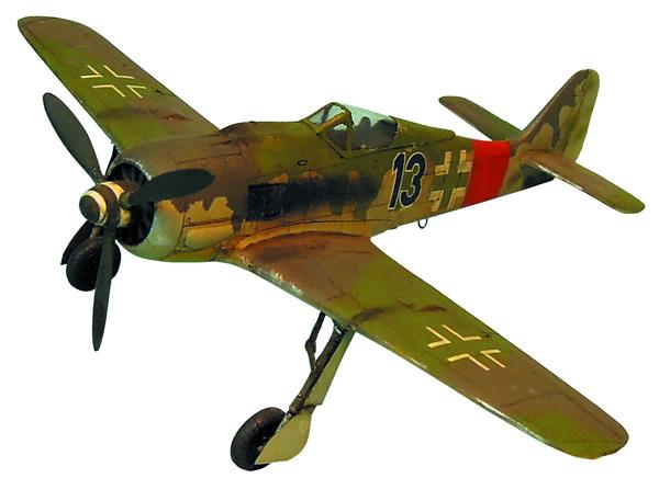 Artmaster 80145 - Focker-Wolff 190 A-8 jet fighter