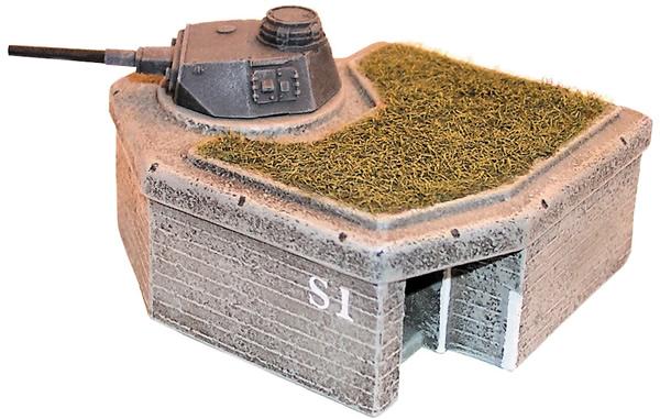 Artmaster 80198 - Bunker w/ Tank IV turret