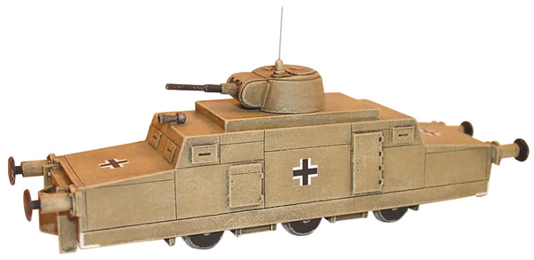 Artmaster 80210 - Zeppelin railroad armoured speeder