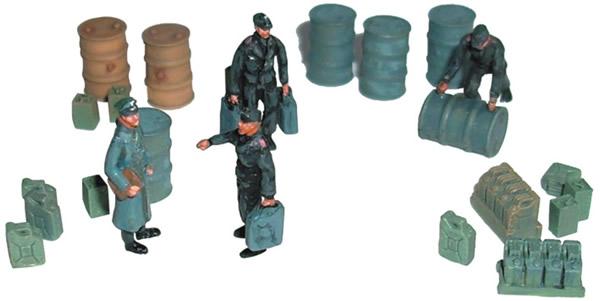 Artmaster 80393 - Set of figures, tank warehouse