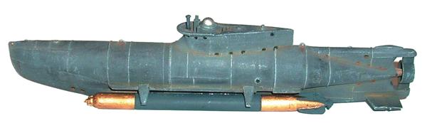 Artmaster 80422 - SEEHUND submarine (complete hull)