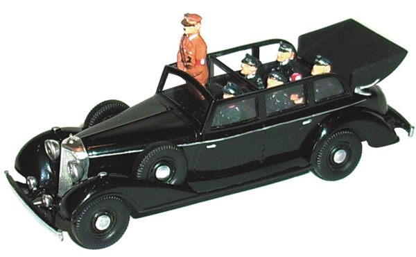 Artmaster 80451 - Set of figures for the Mercedes-Benz G4/770