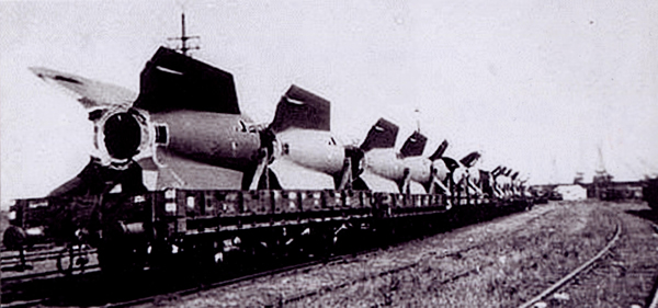 Artmaster 80592 - V2 Rocket Engine Transport Load