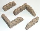 Sandbag walls (4 per pack)