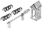 Watchpost w/ accessories