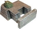 Tobruk bunker w/ tank turret