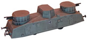 Armoured artillery railcar No. 17-23