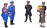 Figure set of Reichsmarschall Goering (5 pieces)