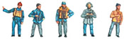 Set of figures of civilian seamen 1