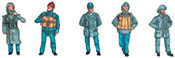 Set of figures of civilian seamen 2