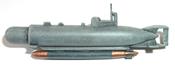 Midget submarine HECHT