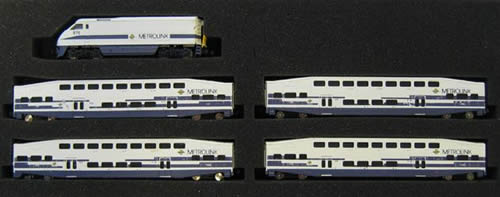 AZL 6003F - F59PHI Locomotive Metrolink Fluted Only