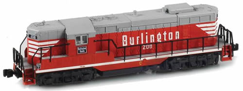 AZL 62010-3 - USA Diesel Locomotive GP7 218 of the CB&Q