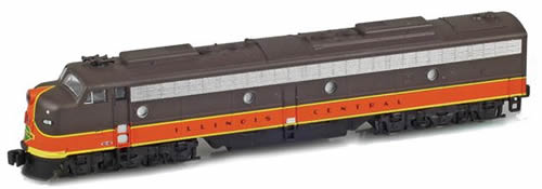 AZL 62612-2 - USA Diesel Locomotive IC E8 A 4040 of the Illinois Central
