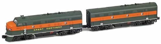 AZL 62912-2 - USA Diesel LocomotiveF3A-F3B 356A,356B Set of the GN