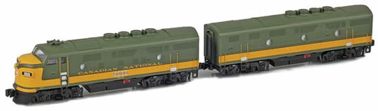 AZL 62914-2 - Canadian Diesel Locomotive F3A-F3B 9003, 9004 Set of the CN