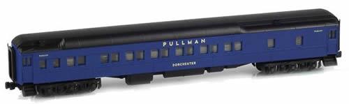 AZL 71011-1 - 12-1 Pullman Sleeper DORCHESTER Wabash Blue