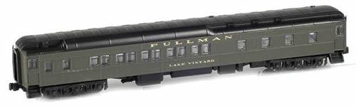 AZL 71101-3 - 10-1-2 Pullman Sleeper Green - Lake Vineyard
