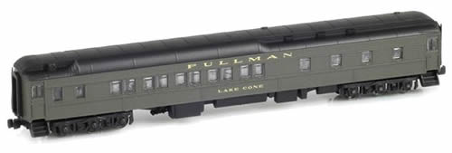 AZL 71101-5 - 10-1-2 Pullman Sleeper LAKE CONE - Green