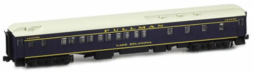 AZL 71109-1 - 10-1-2 Pullman Sleeper LAKE BELANONA L&N Blue