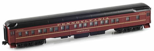 AZL 71203-1 - 8-1-2 Pullman Sleeper PRR Tuscan Red - Centfaun
