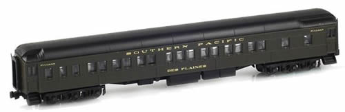 AZL 71204-3 - 8-1-2 Pullman Sleeper DES PLAINES SP Dark Olive