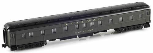 AZL 71301-2 - 6-3 Pullman Sleeper PS Green - Glen Valley