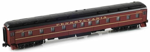AZL 71303-0 - 6-3 Pullman Sleeper PRR Tuscan Red