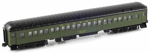 AZL 71728-1 - Paired Window Coach  ATSF Green - Chair 1247