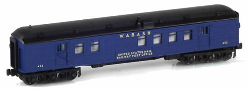AZL 71911-2 - RPO UNITED STATES MAIL RAILWAY POST OFFICE Wabash Blue