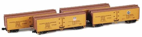 AZL 900802-5 - 40' PFE R-30-18 Wooden Reefer Set