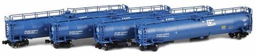 AZL 90333-1 - 4pc GLNX 33,000 Gallon LPG Tank Car Set